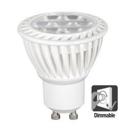 Bec Spot LED GU10 dimabil 7W, lumina calda 2700 K sau neutra 4200 K