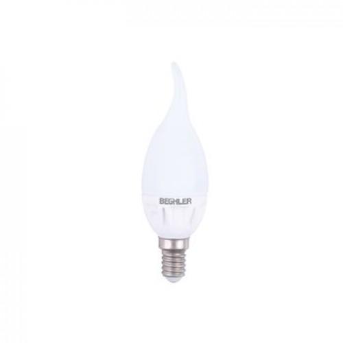Bec LED E14 5W lumanare flacara