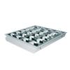Corp LED tip FIRI 4x9W 60x60cm incastrat, cu tuburile LED incluse