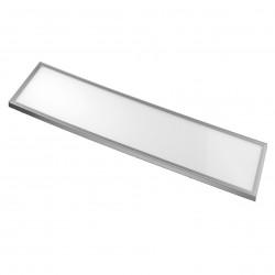 Panou LED 36W 300x1200 mm, rama argintie